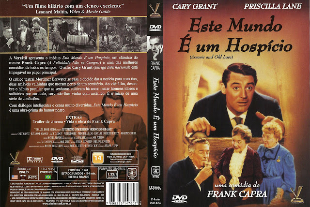 Capa DVD Este Mundo É Um Hospício