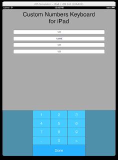 How To: Make Custom iOS Number Keyboard on iPad