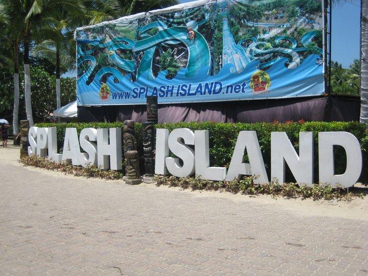 how to go to splash island