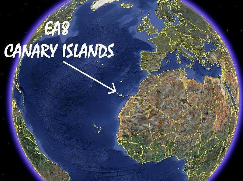 EA8 = Canary Islands