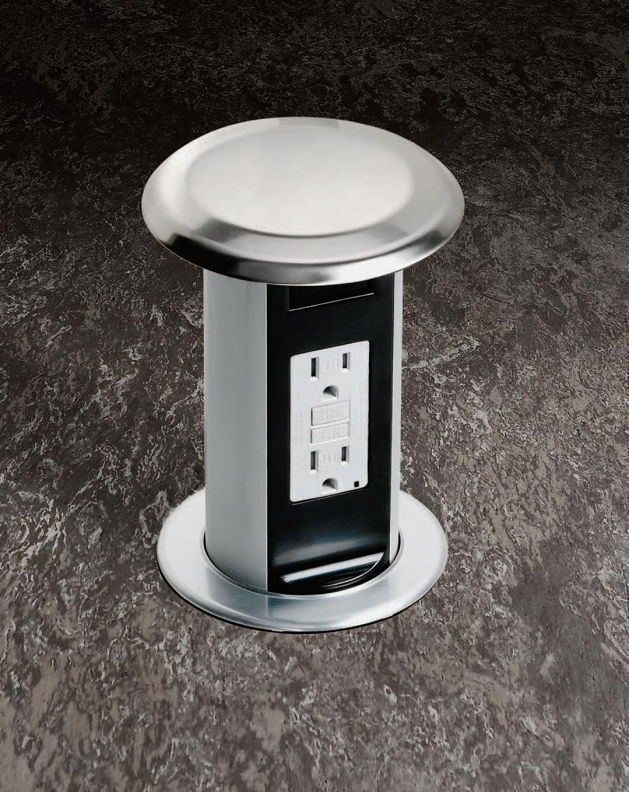 Countertop Outlet : ... countertop electrical outlet countertop electrical outlet with floor