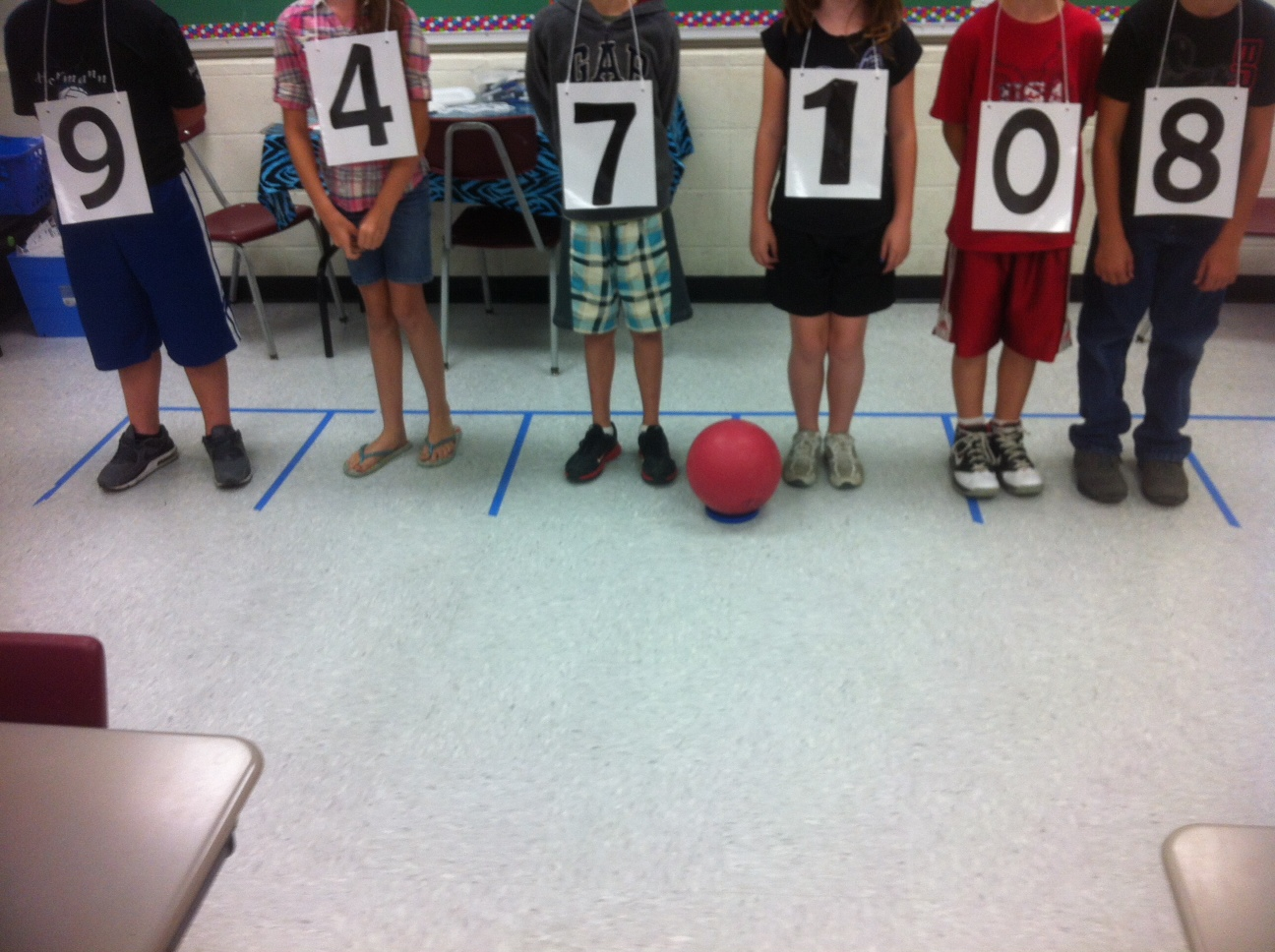 Two Sisters Teach Place Value