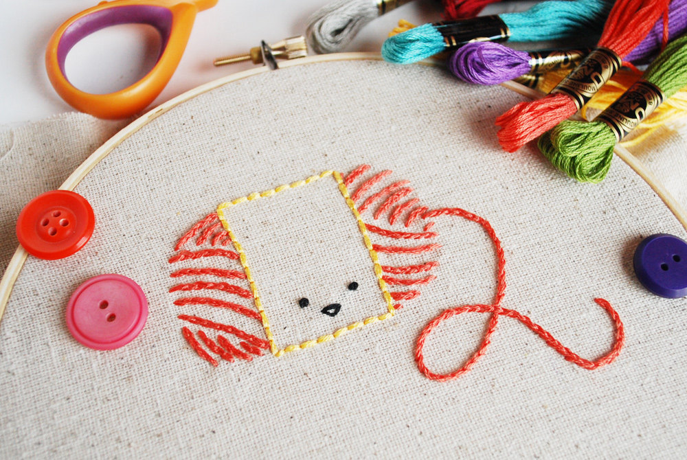 crafty characters embroidery patterns from wild olive