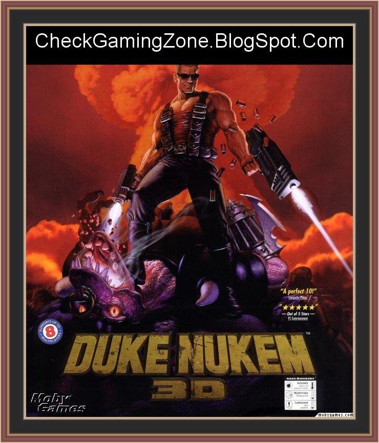 Duke Nukem 3d Cover Art By Check Gaming Zone