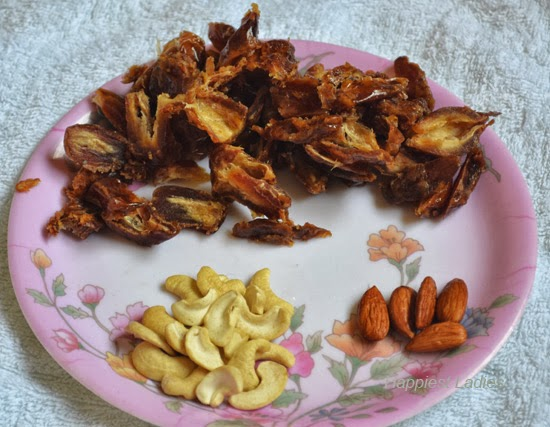 Dates-almonds-and-cashews-+-Dates-halwa