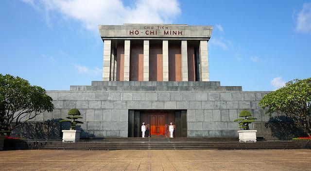 Mausoleo de Ho Chi Minh en Hanói