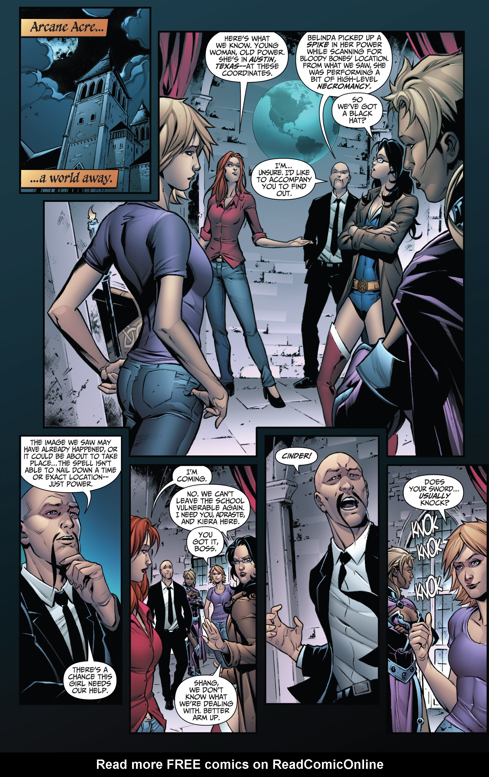 Grimm Fairy Tales (2005) Issue #114 #117 - English 6