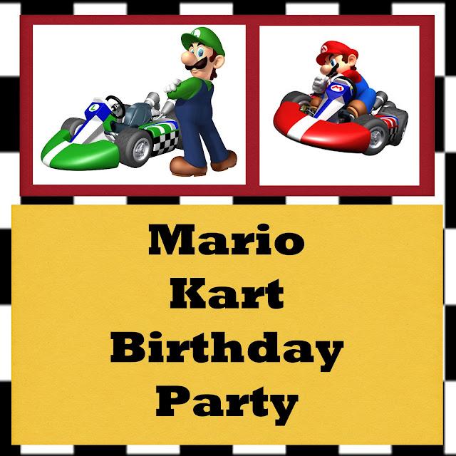 Gloriously Made: Mario Kart Birthday Party