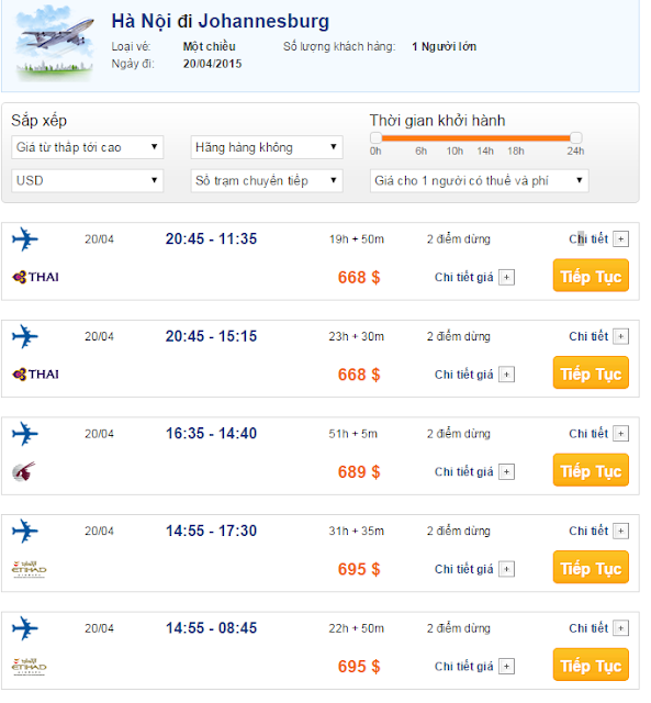 Vé máy bay đi Johannesburg giá rẻ 2015_2