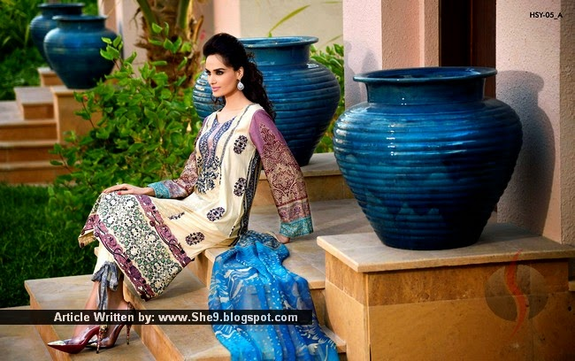 HSY - House of Ittehad Summer Dresses 2015