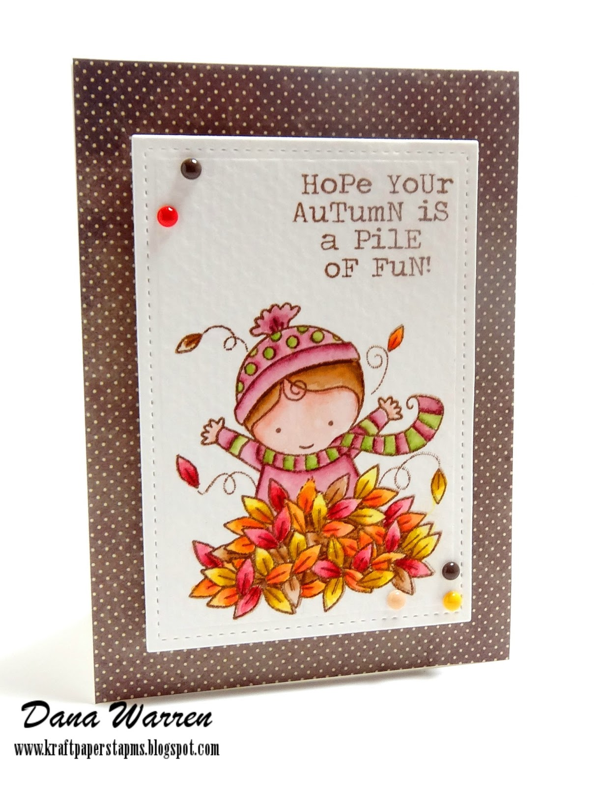 Dana Warren - Kraft Paper Stamps - Darcie's Heart & Home