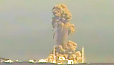 Explosão na usina de Fukushima I