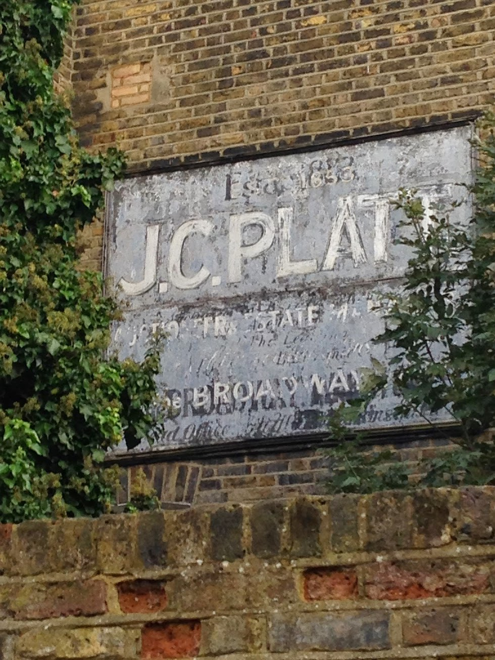Ghost sign, Fulham, London SW6