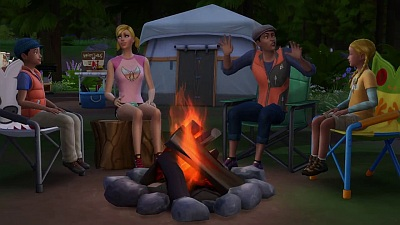 The Sims 4 (Game): 'Outdoor Retreat' Trailer - Screenshot