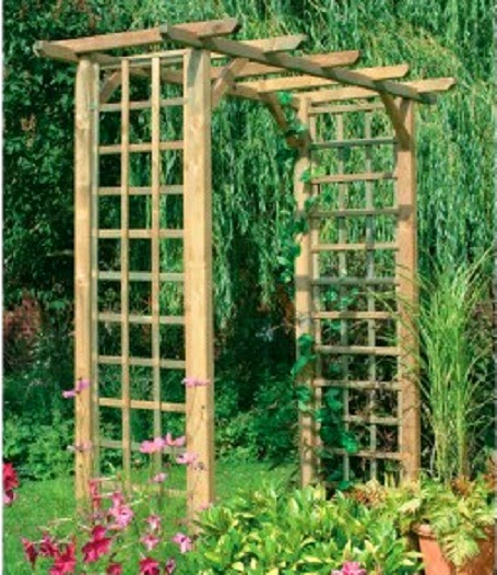 Make Your Garden Beautiful With The Garden Trellis   NoZ