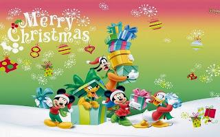 Tarjetas de navidad de caricaturas