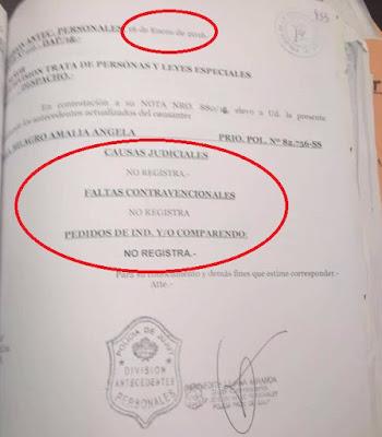 JUSTICIA, MILAGRO SALA