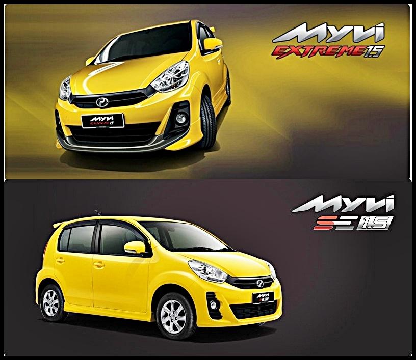 Perodua Myvi 1.5 SE & EXTREME
