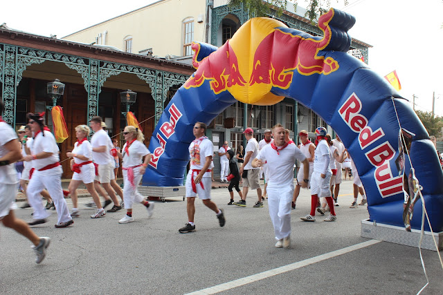 Running of the bulls 2012 Pensacola FL
