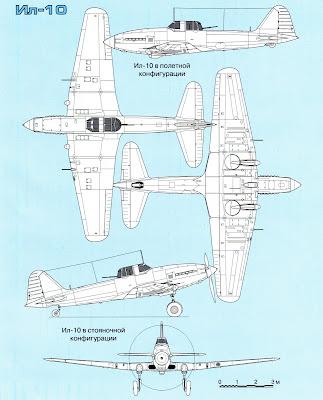 характеристики штурмовика Ил-10