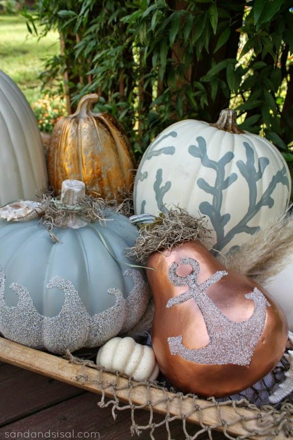 Sand and Sisal | Coastal pumpkins