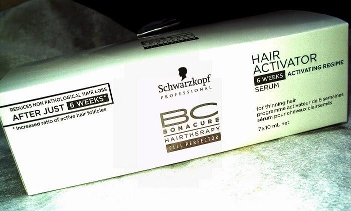 Schwarzkopf BC Hair Activator, aktywizująca kuracja w ampułkach i szampon przeciw wypadaniu