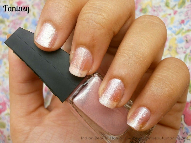 Lakme Absolute Illusion Nails Nail Polish in Fantasy review and swatch