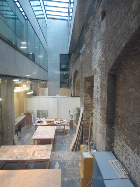 Studio space in Central Saint Martins, Stanton Williams Architects