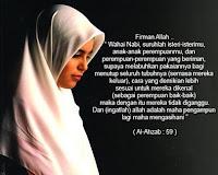 Dasar Hukum Menggunakan Jilbab Bagi Muslimah