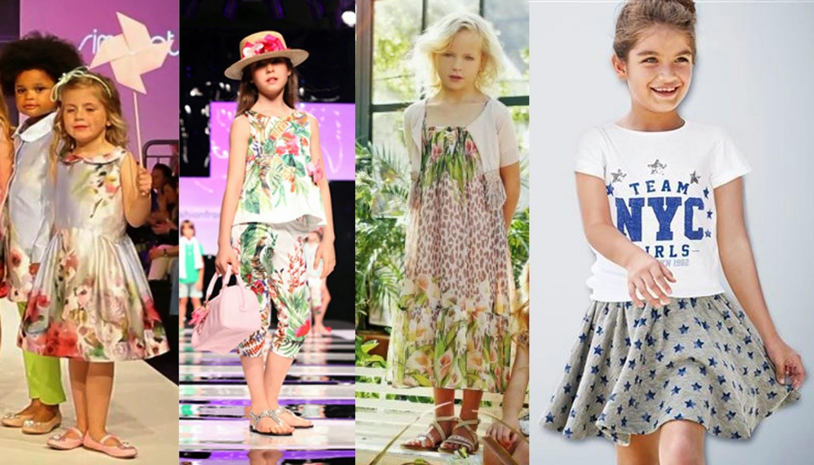 Senac moda informa o ver o 2015 moda infantil - Moda nino 2015 ...