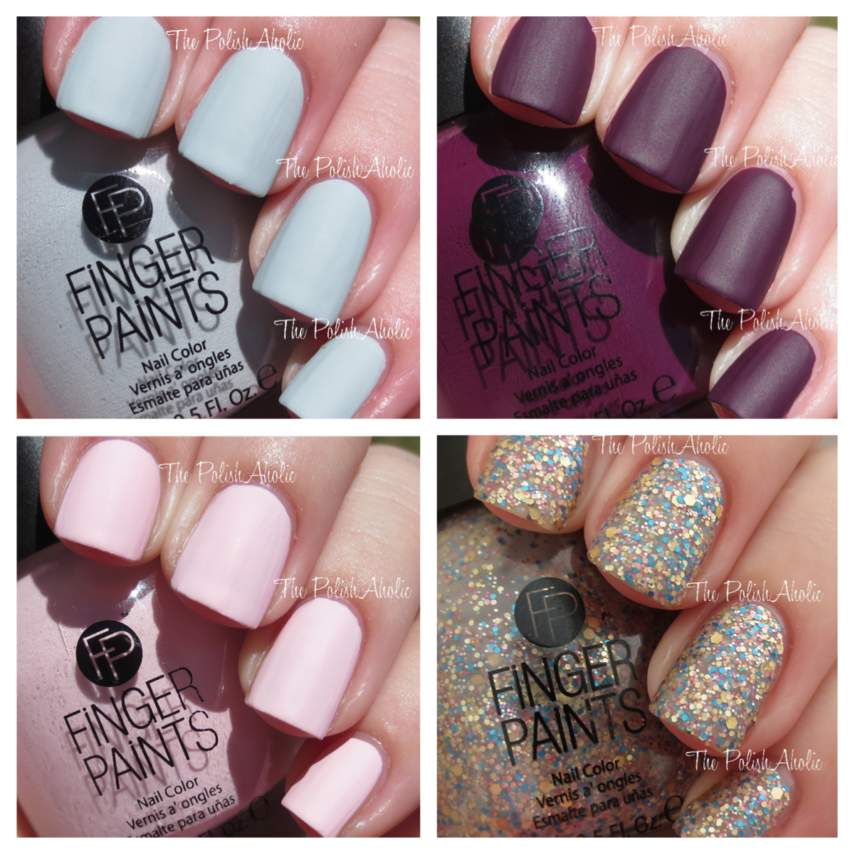 The PolishAholic: Finger Paints Film Noir Collection Swatches & Review