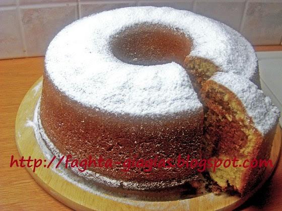 Κέικ δίχρωμο - Τα φαγητά της γιαγιάς