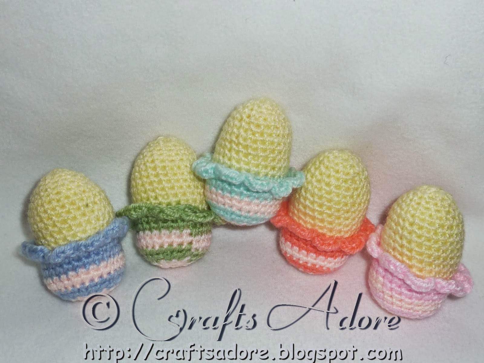 Little Chirpy Chicks waiting to Hatch Amigurumi Soft Toy