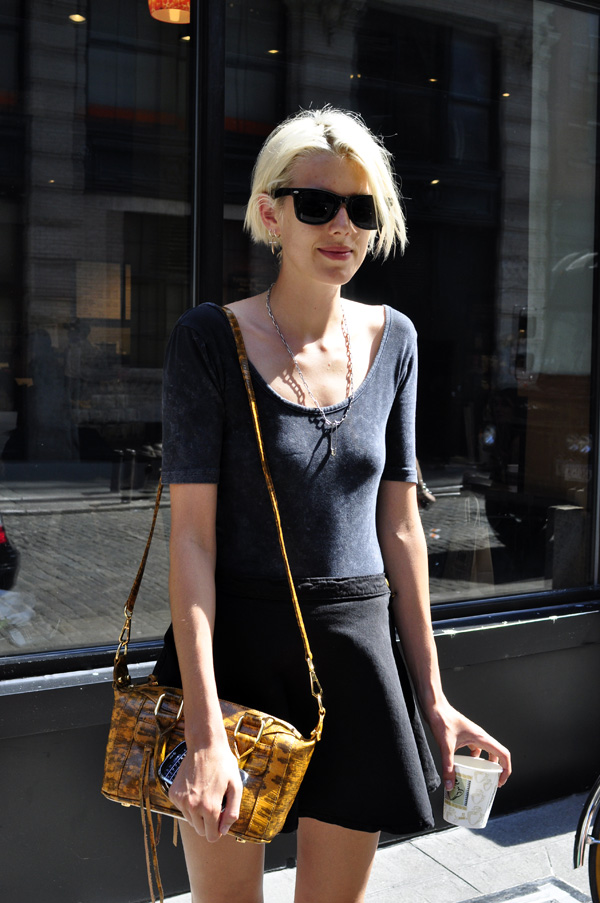 Fashion Fair World Agyness Deyn Street Style
