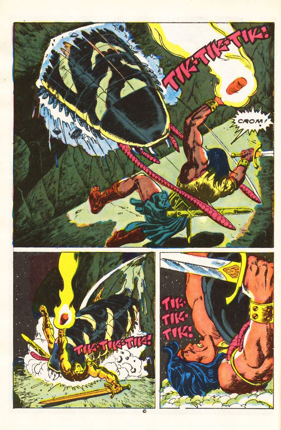 Conan the Barbarian (1970) Issue #212 #224 - English 6