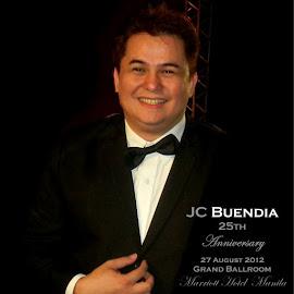 JC Buendia on his  25th Anniversary