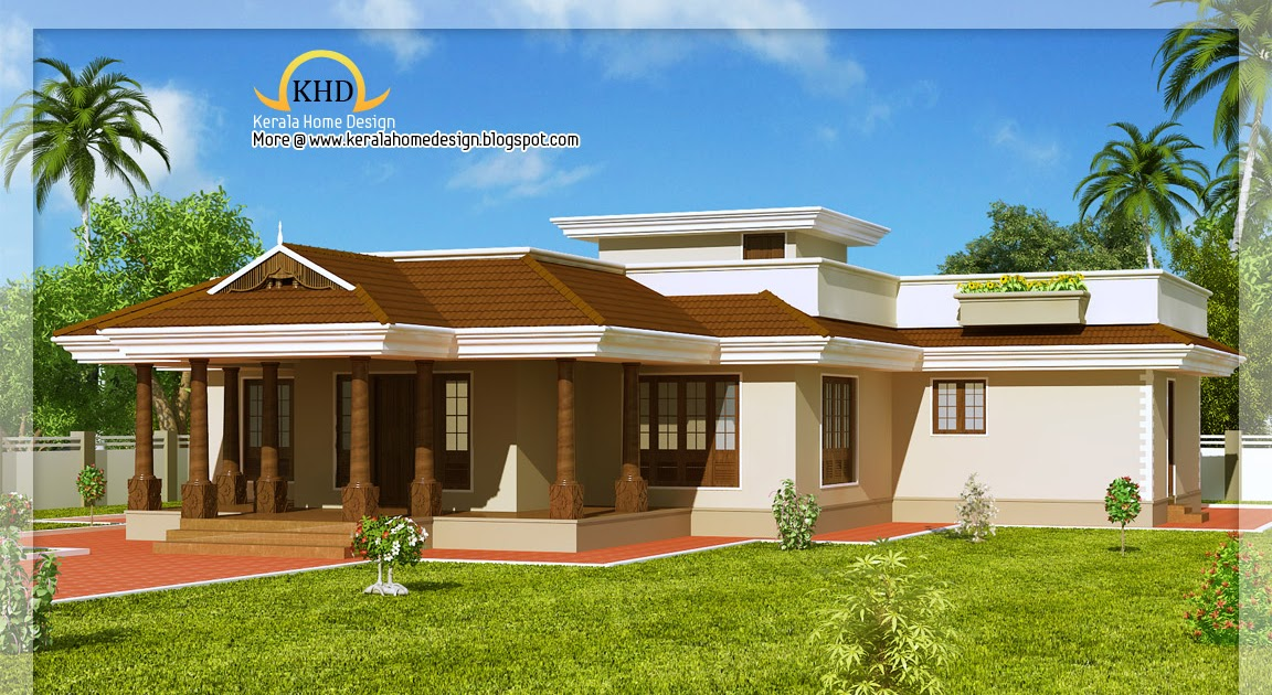 Kerala Style Single Floor House 2165 Sq Ft Kerala