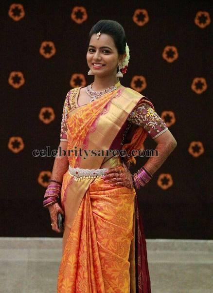 Bridal Blouse by Shashi Vangapally