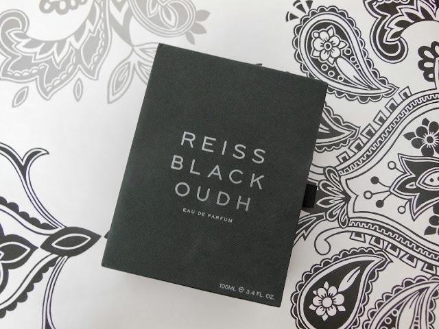 Reiss black oudh perfume