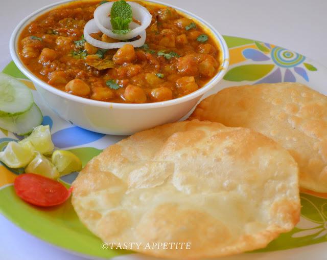 Chole bhature punjabi bhature recipe step by step tasty appetite