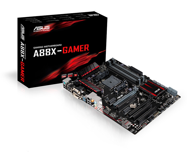 ASUS A88X-Gamer Motherboard Features and Specifications screenshot 1