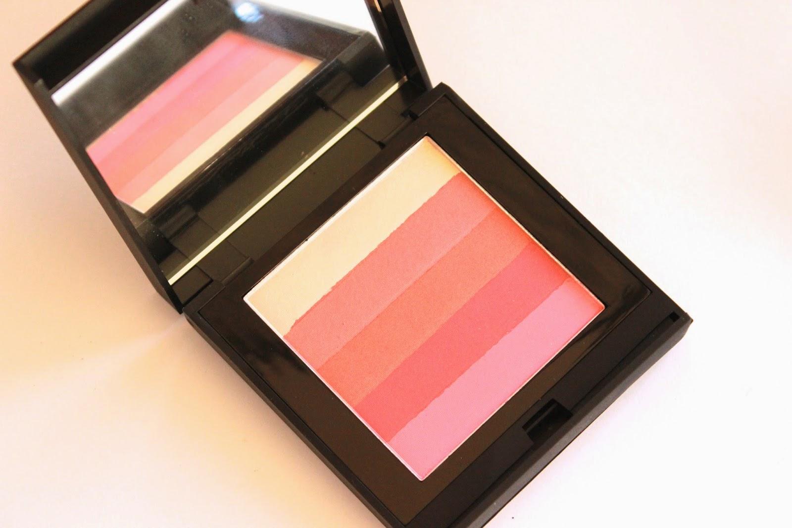 review mememe shimmer stack pink