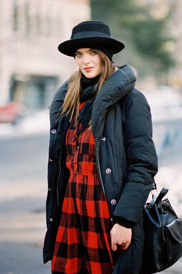 Vanessa Jackman: New York Fashion Week AW 2015.Chiara
