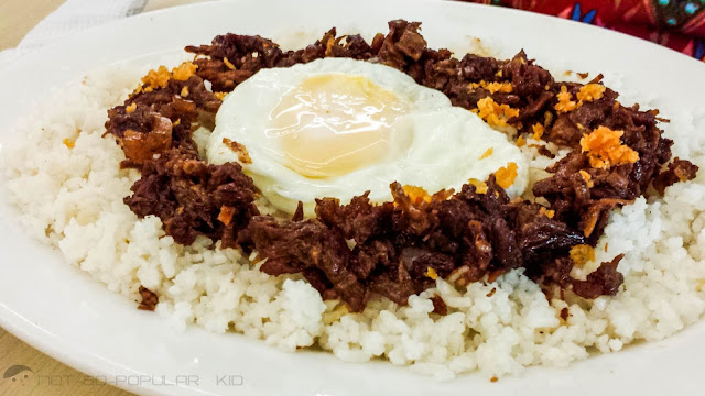 Perico's Beef Tapa - almost the same goodness with Rodic's