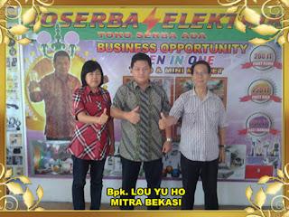 Mitra Toserba Elektrik buka di Bekasi