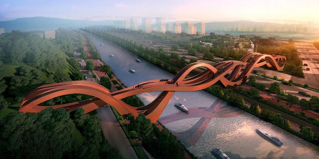 Jembatan Paling Ekstrim dan Mendebarkan di Dunia