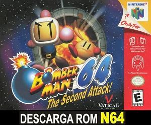 Bomberman 64 - The Second Attack! 64 ROMs Nintendo64