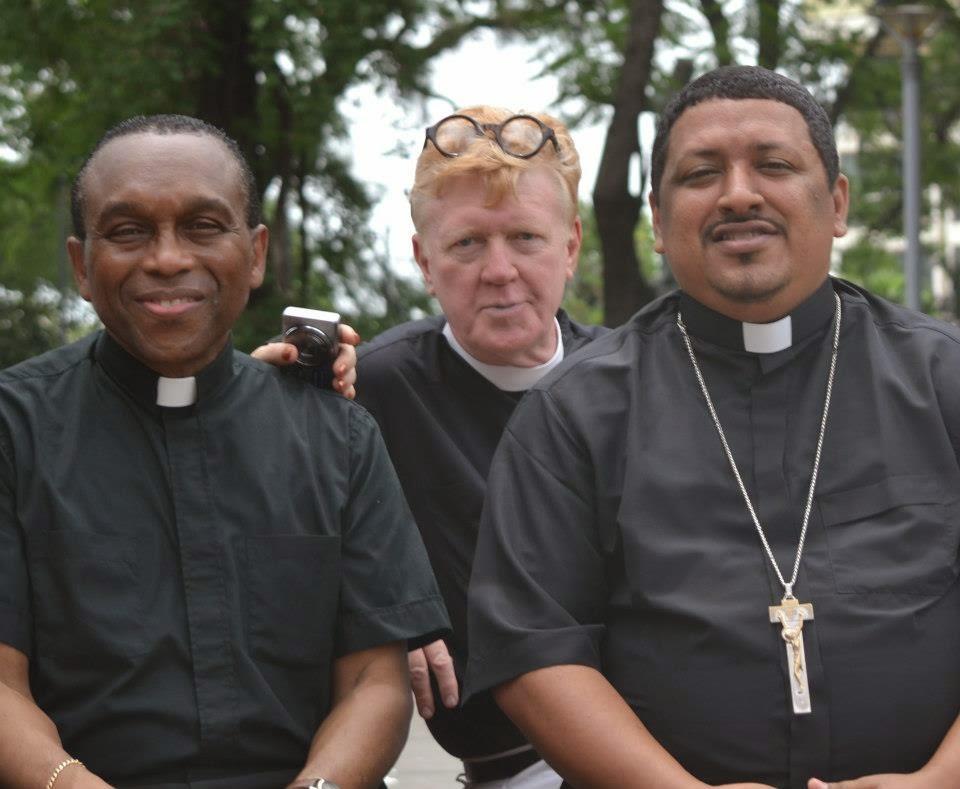 Dom Frei Lucas Macieira e  Most Rev Samuel Sostre Castillo.