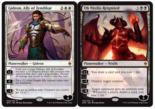 Magic the Gathering Adventures: BFZ Review Part 16: Awaken ... Planeswalker Ally Deck