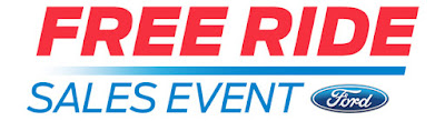 Free Ride Sales Event at Ford of Ventura